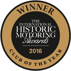 Winner - the International Historic Motoring Awards 2016